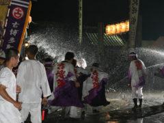 「気勢の水しぶき」 ワンチコ 様(2011年8月)