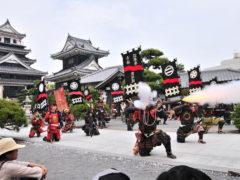 「中津城 たにし祭」 沖田 様(2013年4月)