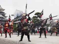 「タニシ祭り鉄砲隊」 デジ吉 様(2015年4月)
