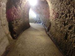 青の洞門(旧道)