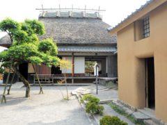 福澤旧居(敷地内)