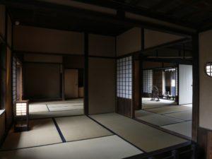 福澤旧居内部